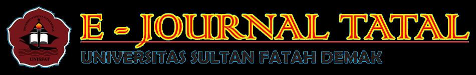 E - JURNAL TATAL